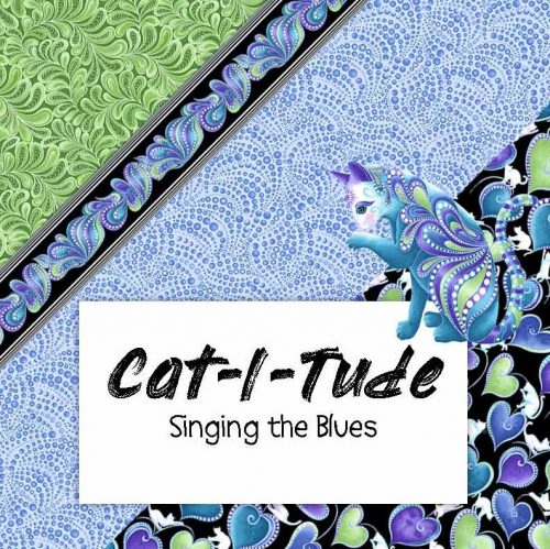 Cat-i-tude Singing the Blues - Ann Lauer
