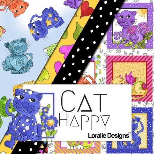 Cat Happy - Loralie Designs