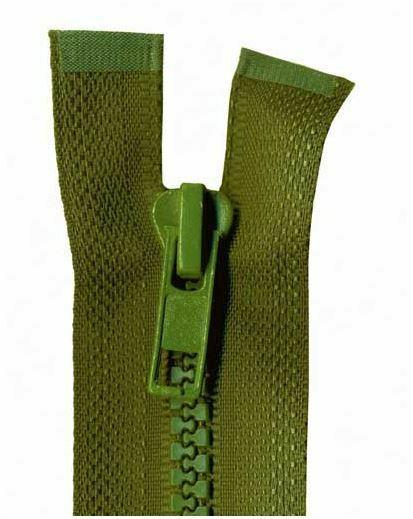 55cm Open End Chunky Zips