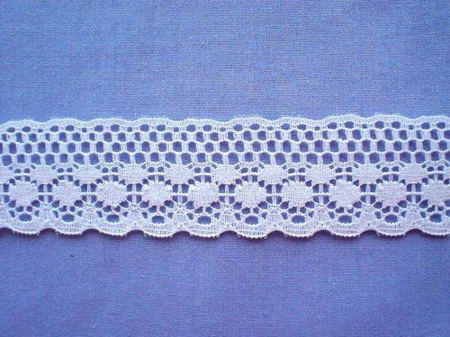 Polycotton Lace - Flat