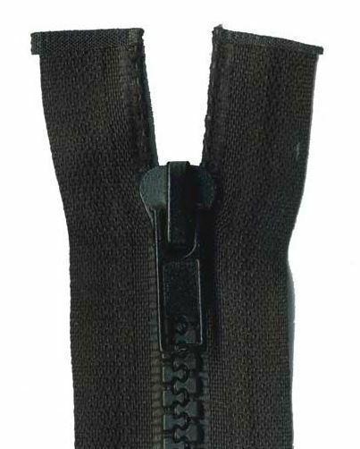 80cm Open End Chunky Zips