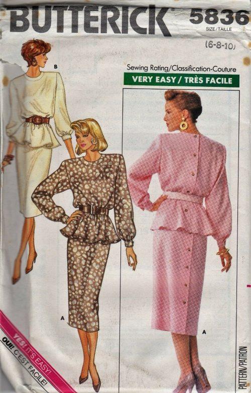 Vintage Butterick Patterns